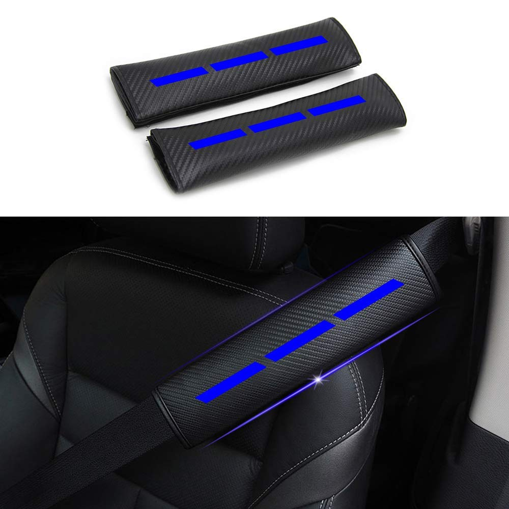 Para LEAF NV200 Combi Micra GT-R Qashqai 2 paquetes de cojines de hombro para cintur/ón de seguridad almohadillas para cintur/ón de seguridad extra/íbles y lavables