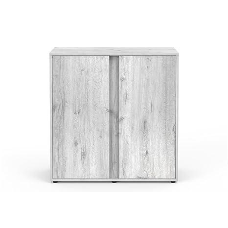 Mueble para Acuario Expert 80 roble blanco Aquatlantis
