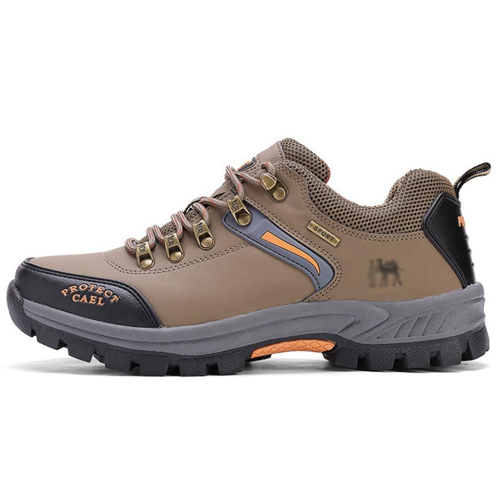 111c0103576 ASJUNQ Outdoors Large Size Men's Shoes Non-Slip Hiking Shoes ...