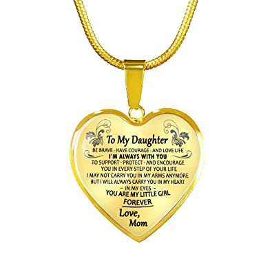Amazoncom Daughter Birthday Gifts From Mom You Are Little Girl