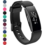 Chofit Bands Compatible with Fitbit Inspire Bands & Fitbit Inspire HR Bands, Replacement Silicone Sports