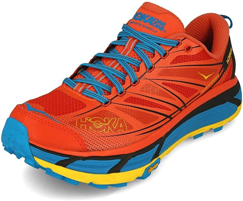 Zapatillas HOKA ONE One Mafate Speed 2 Nasturtium/Orange: Amazon.es: Zapatos y complementos