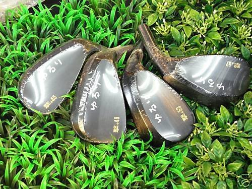 YURURI JAPAN KEIGEKIKU TARGET SPIN FORGED WEDGE 53 deg Head Only Japanese Logo 2017 by YURURI (Image #4)