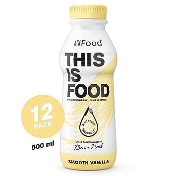 YFood Vanilla, Batido Sustitutivo | Sustitutivo de comida sin ...