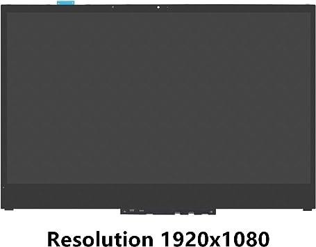 FTDLCD® 15.6 Inch para Lenovo Yoga 730-15IWL 81JS FHD LED LCD Pantalla Táctil Digitalizador + Marco Reemplazo de Ordenador 1920x1080: Amazon.es: Electrónica