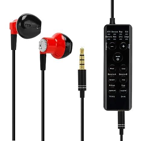 Amazon.com: Cambiador de voz, auriculares KOKITEA en directo ...