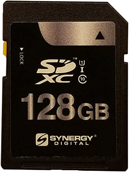 128GB Memory card for Canon EOS 80D Camera 95MB//s Class 10 SDXC
