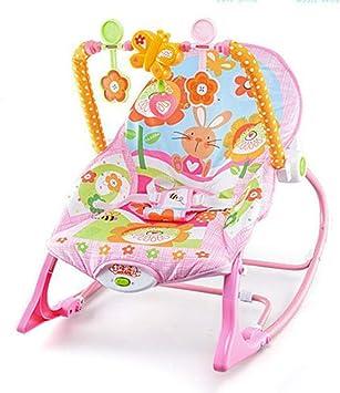 WY-Tong silla bebe Silla para bebes cuna, vibrante música bebé ...