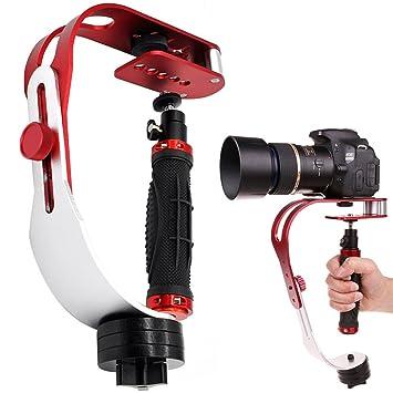 Amazon.com : AFUNTA Pro Handheld video Camera Stabilizer Steady ...