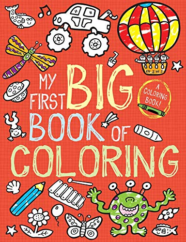 My First Big Book of Coloring -