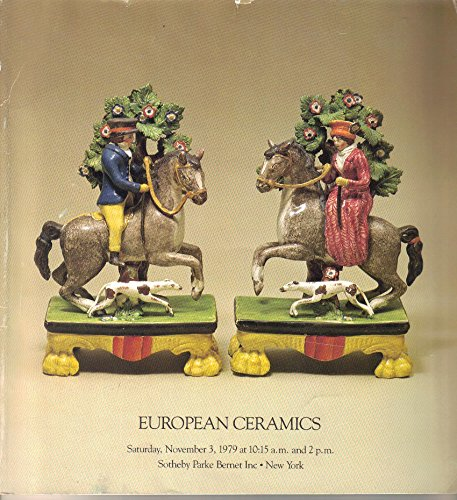 European Ceramics (Saturday November 3, 1979) (Creamware Collection)