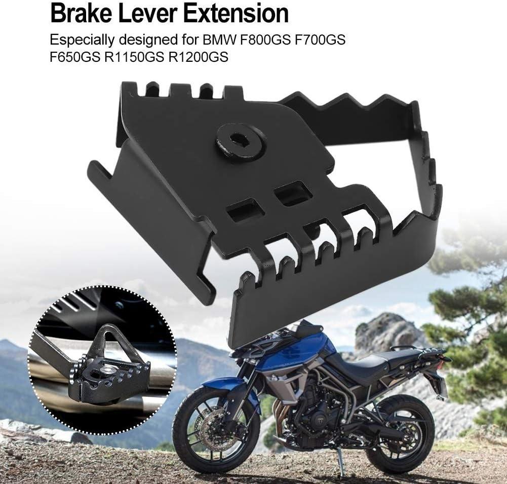 AJIAMA P/éDa Le de Levier de Frein Arri/ère Agrandir Extension Extension Extender pour F800Gs F700Gs R1200Gs Moto Accessoires