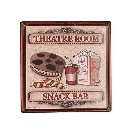 Hacoly Retro Carteles de Chapa Cartel Vintage Cartel de ...