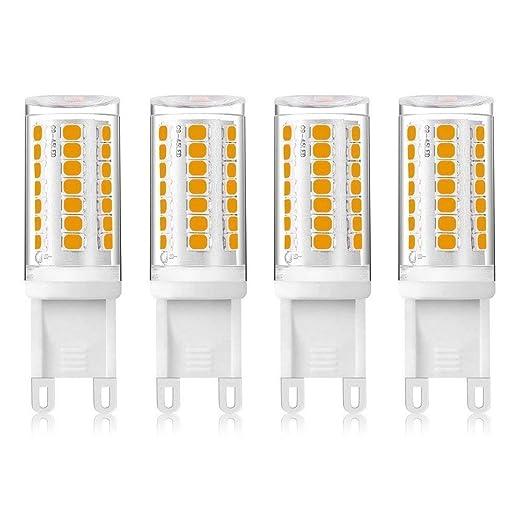 4W LED G9 Capsule Dimmable Light Bulb Warm White 3000K, 220V-240VAC ...