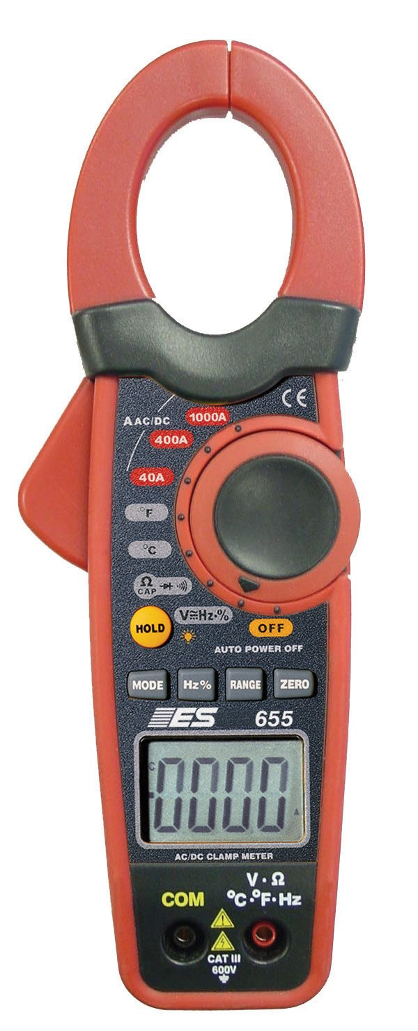 ESI 655 1000 Amp DC/AC Current Probe / DMM