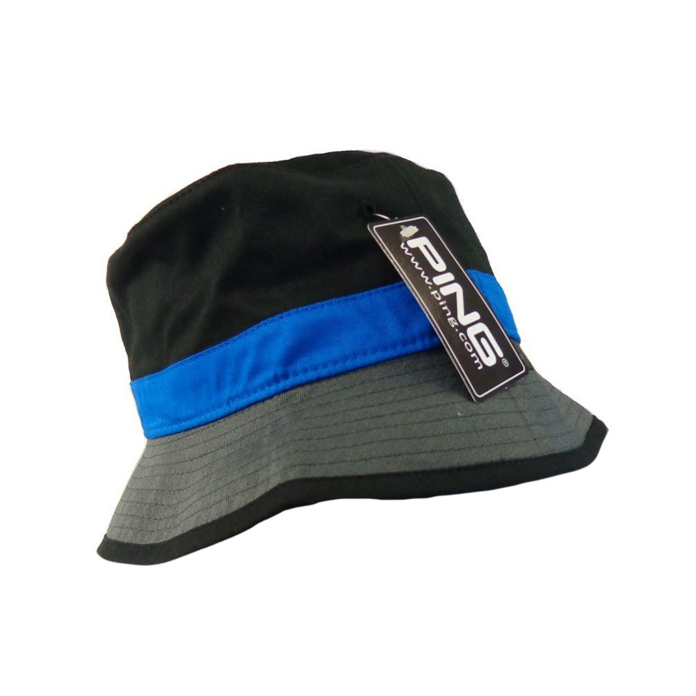 8313f6cb539 Amazon.com  PING Bucket Hat (Black Royal