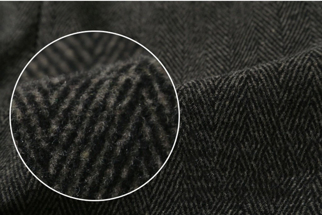 Hose Textur Textur Wolle Sportler Casual Herren Hose Herbst