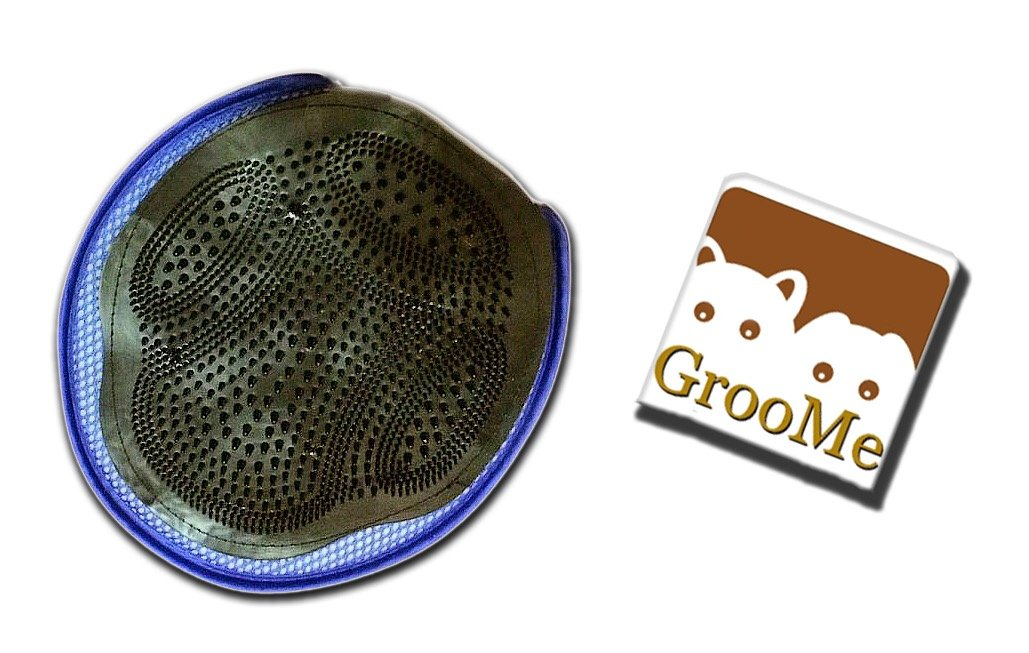 Pet Grooming Mitt Cats Dogs Massage Animal Pet Brush Tool Coat Fur Deshedding Hair Wet Dry Bath