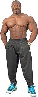 product image for Physique Bodyware Classic Men's Black Workout Baggies. Vintage Bodybuilder Pants.
