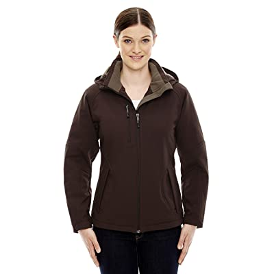 78080 North End Women's Three-Layer Soft Shell Jacket With Detachable Hood, D...