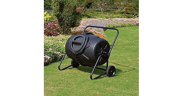 Amazon.com: Con ruedas Tacho Tumbler 50 Gal: Jardín y Exteriores