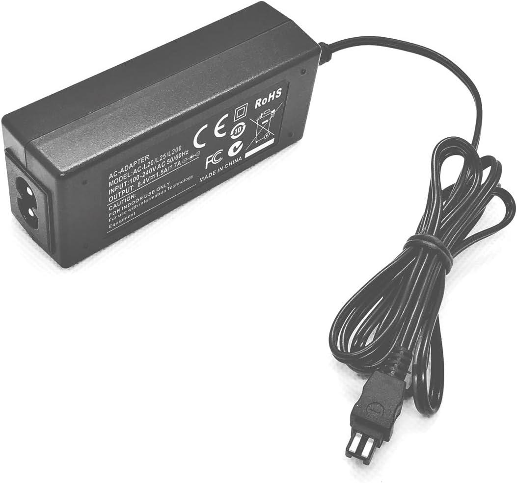 DCR-HC85E DCR-HC96E Handycam Camcorder DCR-HC94E AC Power Adapter Charger for Sony DCR-HC65E