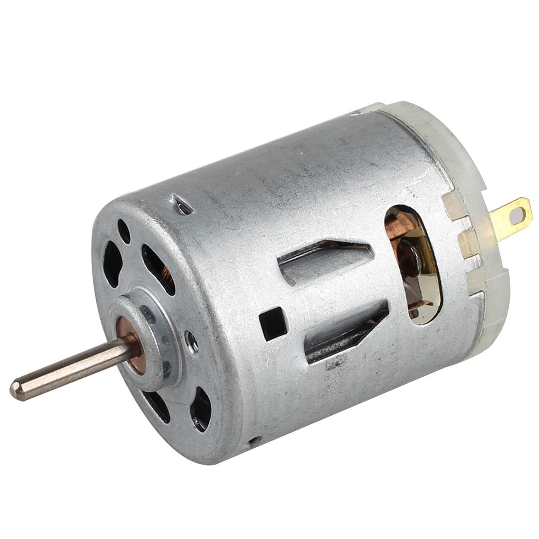 Haljia DC 12V 12000RPM 365 Micro Motor Mini Magnético Pequeño Motor 365 para Smart Cars Secador de pelo DIY Juguetes