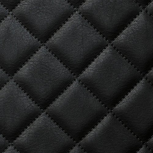 WallFace 15029 ROMBO Wall panel self-adhesive Leather design plaid Luxury wallcovering wallplate black | 2,6 sqm by Wallface (Image #5)'