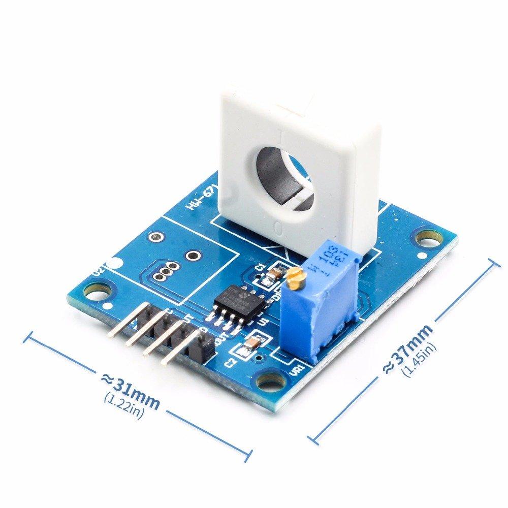 BELONG 1PCS WCS1800 Hall Current Sensor 35A Short Over-Current Detector Protection Module