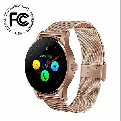 Smart Watch Reloj Inteligente Bluetooth Smartwatch Teléfono con Sueño,Podómetro,Contador de caloría,