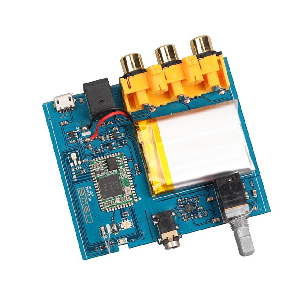 SMSL B1 HiFi Stereo Audio Bluetooth CSR 4.2 Receiver DAC with NFC Black