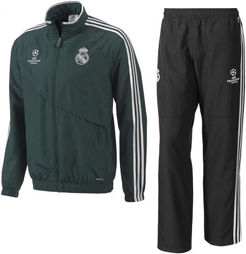 Adidas Real Madrid C.F. - Chándal de presentación para niños ...