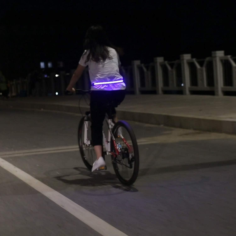 FairytaleMM Deportes inalámbricos Ciclismo Nocturno Seguridad ...