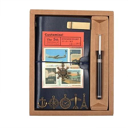 AOSND Cuaderno, Libro de Viaje/Libro de Mano Retro/Cuaderno ...