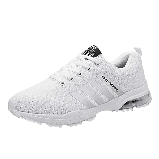 f56f88a5b026c Amazon.com: Mens Womens Sneakers Size 5-11 - Lightweight Breathable ...