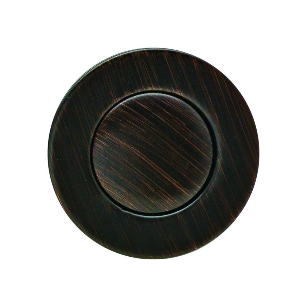 PF WaterWorks Bathroom Sink/Lavatory Pop-Up Drain, Transparent ABS Body No Overflow; Oil Rubbed Bronze; PF0729-ORB-TR-NO