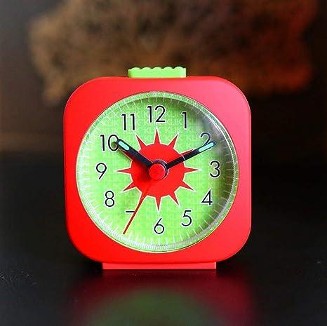 qinxiangling Despertador Digital para Niños Movimiento Mudo ...