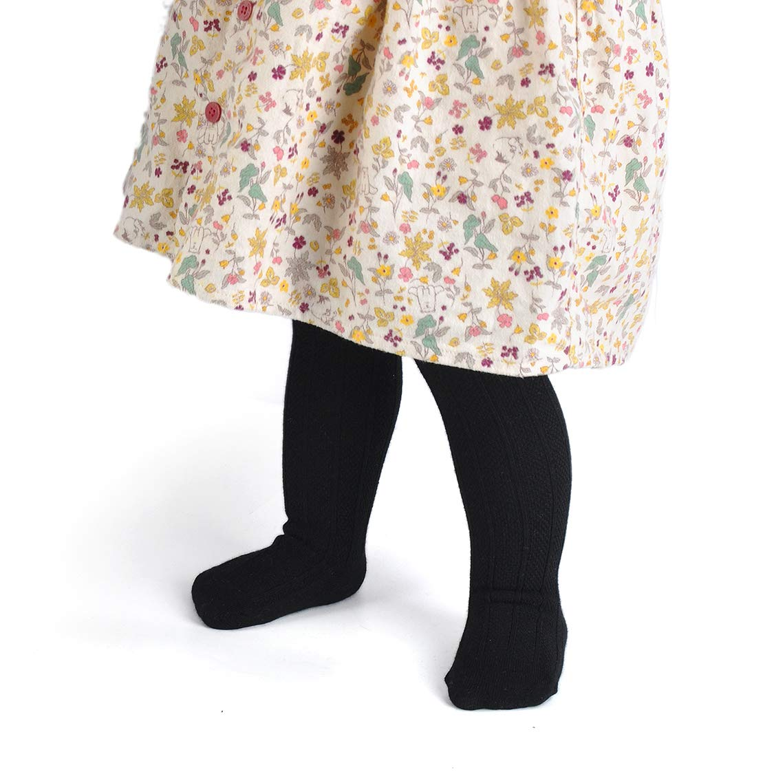 Epeius Baby Girls Boys Uniform Knee High Socks Tube Ruffled Stockings Infants and Toddlers Pack of 3//5