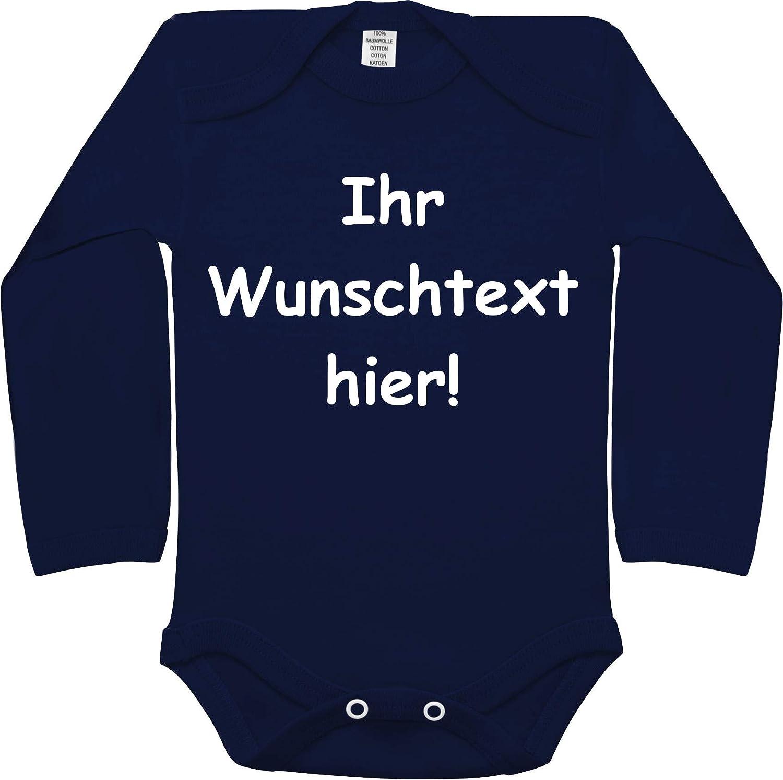 Foto Text//Kurzarmbody//M/ädchen Motiv Jungen KLEINER FRATZ Body Baby mit eigenem Wunsch Motiv