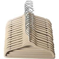 ManGotree Perchas de Ropa Aterciopelada, Bebé clasificado, Diseño