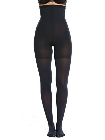 6243fd8ab242a3 Spanx Women's High-Waisted tight-end tights at Amazon Women's Clothing  store: