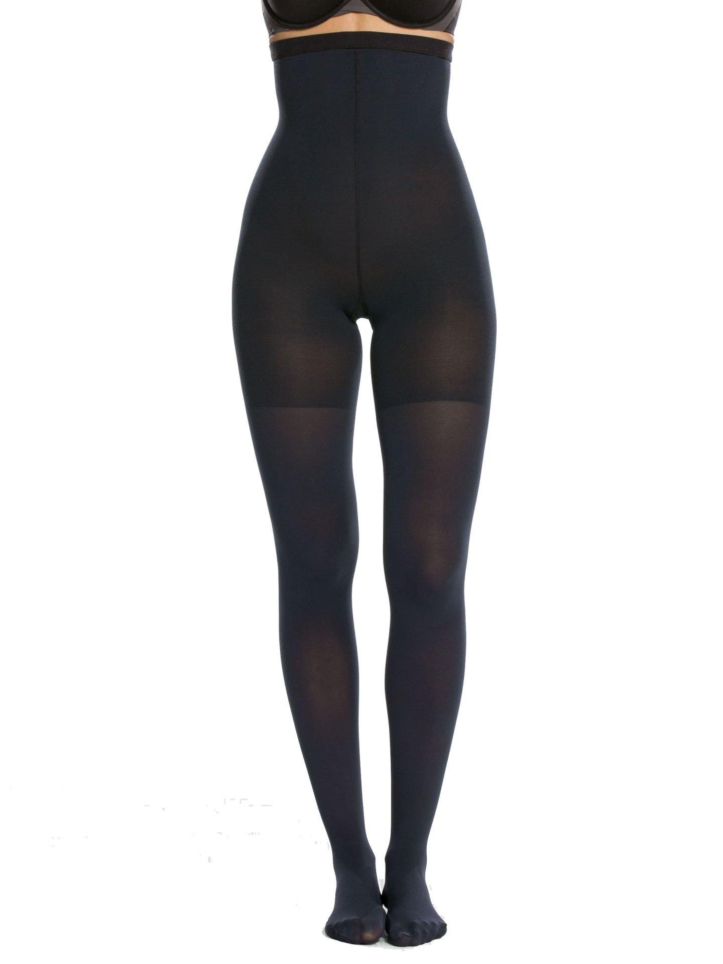 SPANX Luxe Leg High Waist Tights, C, Night Navy