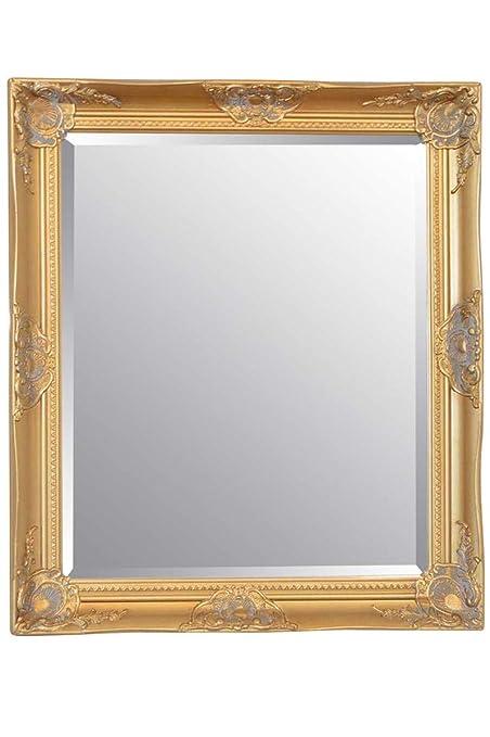 Gold 30inch x 26inch (76cmx86cm) Large Hairdressors Salon Mirror ...