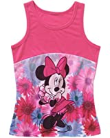 Disney Minnie Mouse Little & Big Girls Contrast Tank Top