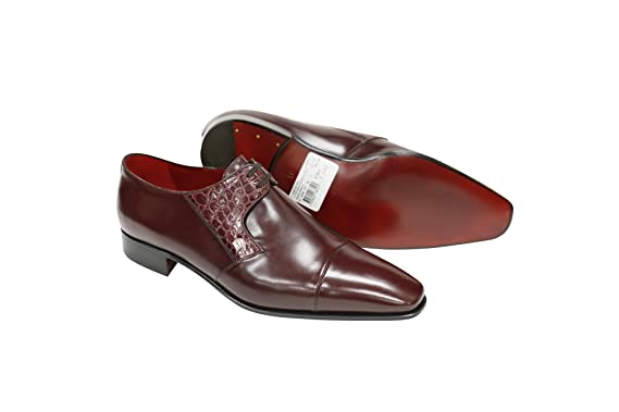 Burgundy Calf Crocodile Cap Toe Slip-On List Price: 50.00 (Now 50% OFF)