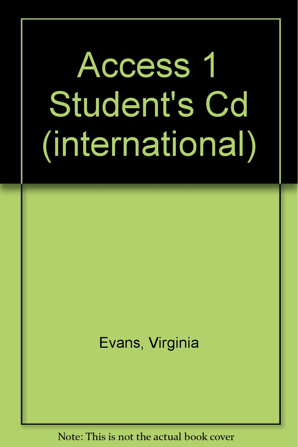 Download Access 1 Student's Cd (international) pdf epub