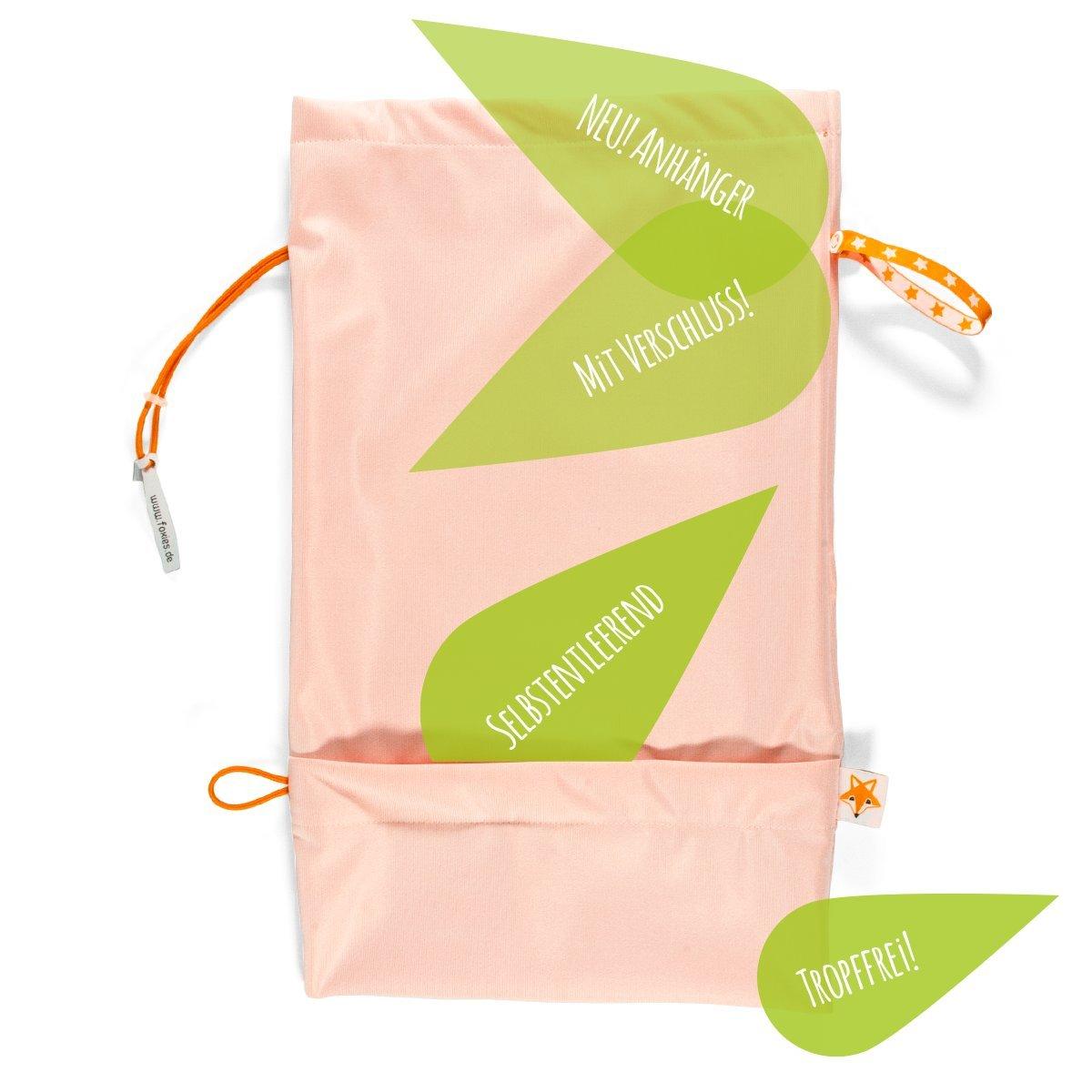 Foxy Baby® Windelbeutel, selbstentleerende Windeltasche mit Auslaufschutz Foxy Baby® Windelbeutel Foxies Family GmbH A-FB-WIB-V08-01-144C