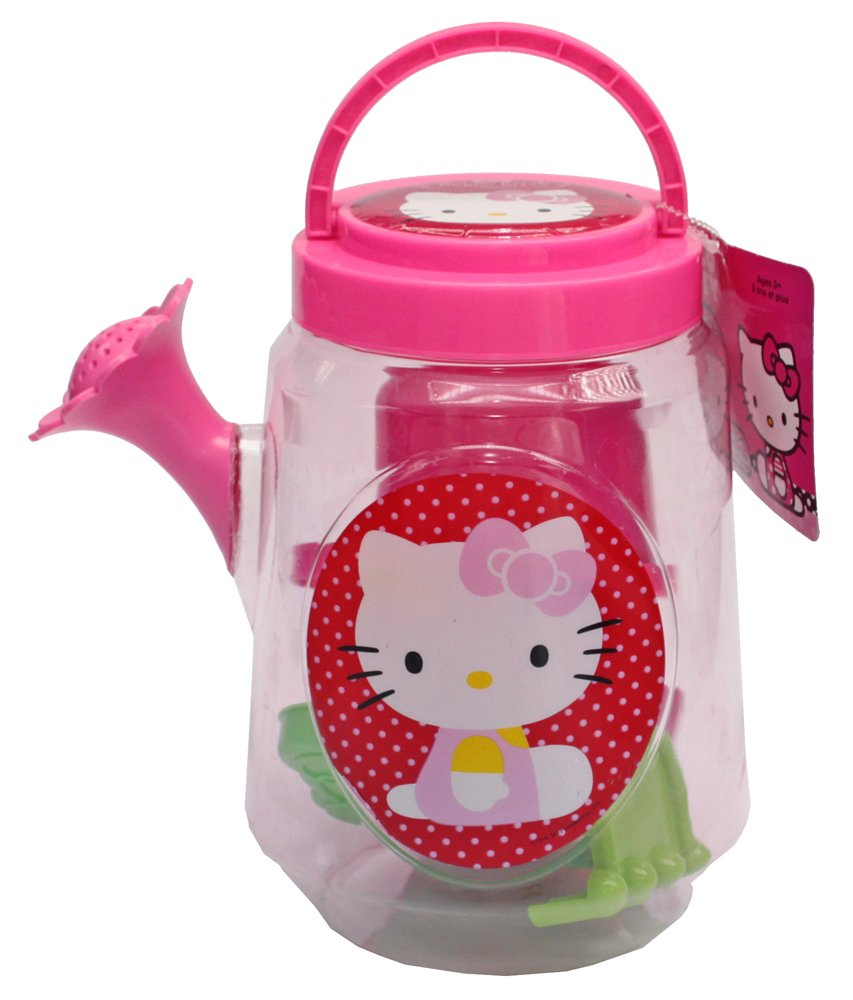 What Kids Want! Hello Kitty Large Clear Watering Can (Filled)