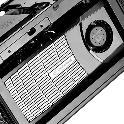 Silverstone Technology Ultra Compact Mini-ITX Computer Case with Mesh Front Panel in Black SG13B by SilverStone Technology (Image #5)