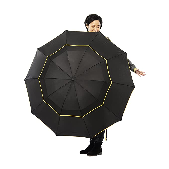 Amazon.com : Farway Golf Umbrella Double Layer Big Golf Business Umbrella Men Rain Woman Windproof Paraguas Outdoor Umbrella : Garden & Outdoor